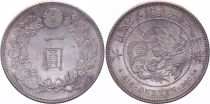 Japon 1 Yen Dragon  - 1897 Meiji An 30 - SPL