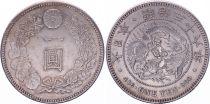 Japon 1 Yen Dragon  - 1905 Meiji An 38 - SUP