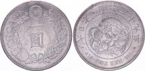 Japon 1 Yen Dragon  - 1906 Meiji An 39 - SUP+