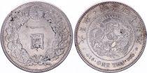 Japon 1 Yen Dragon  - 1912 Meiji An 45 - SUP