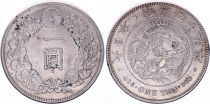 Japon 1 Yen Dragon  - 1912 Meiji An 45 - SUP