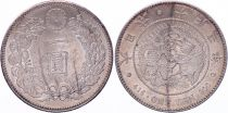 Japon 1 Yen Dragon  - 1914 Taisho An 3 - SUP