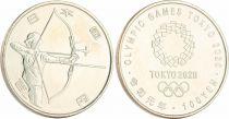 Japon 100 Yen, Tir à l\'arc - JO TOKYO 2020 - SPL