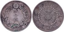 Japon 50 Sen - 1906 Meiji An 39