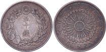 Japon 50 Sen - 1907 Meiji An 40