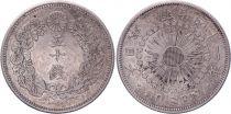 Japon 50 Sen - 1908 Meiji An 41 - Sup
