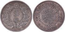 Japon 50 Sen - 1908 Meiji An 41