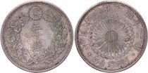 Japon 50 Sen - 1909 Meiji An 42 - Sup