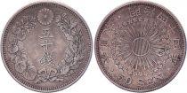 Japon 50 Sen - 1911 Meiji An 44