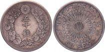 Japon 50 Sen - 1912 Meiji An 45