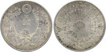 Japon 50 Sen, Fleur - 1917 ( Yr 6)