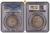 Japon 50 Sen Dragon  - 1871 - PCGS MS 63