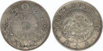 Japon 50 Sen Dragon - 1870 Meiji 3 - 2 em ex