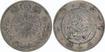 Japon 50 Sen Dragon - 1870 Meiji 3 - 4 em ex