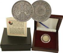 Japon 50 Sen Phénix argent en Coffret bois Ere Meiji - 1922-1935