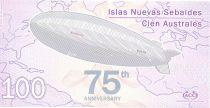 Jason Islands 100 Australes, Zeppelin - 2012