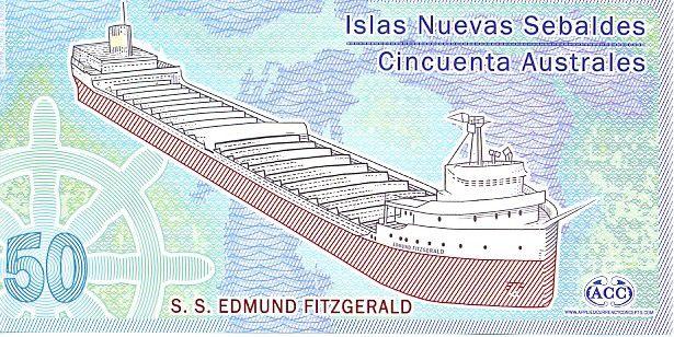 Jason Islands 50 Australes, Cargo Edmund Fitzgerald - 2012