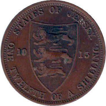 Jersey 1/12 Shilling