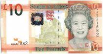Jersey 10 Pounds Elisabeth II - Tour Seymour