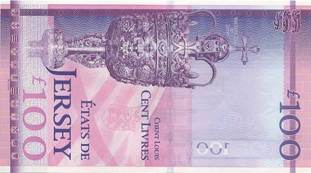 Jersey 100 Pounds, with folder Elizabeth II - Diamond Jubilee 1952-2012