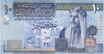 Jordanie 10 Dinars Roi Talal Ibn Adbdullah - Premier Parlement - 2013