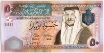 Jordanie 50 Dinars Roi Abdallah II - Palace Raghadan - 2008