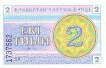 Kazakhstan 2 Tyin Bleu et rose