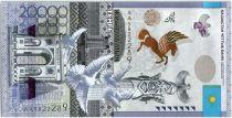 Kazakhstan 20000 Tengé Colombes - 20 ans de la Monnaie - 2015
