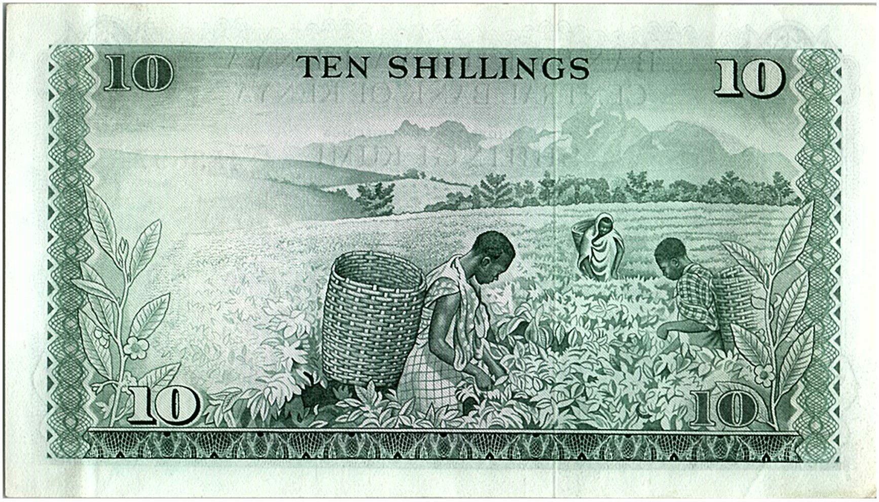 Kenya 10 Shillings - Mzee Jomo Kenyatta - 1973