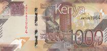 Kenya 1000 Shillings - 2019 - UNC
