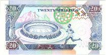 Kenya 20 Shillings  - Daniel Toroitich Arap Moi -1993