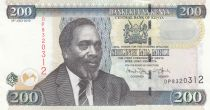 Kenya 200 Shillings M. J. Kenyatta - Cotton harvesting - 2010