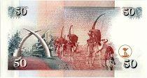 Kenya 50 Shillings  - Daniel Arap Moi -1996