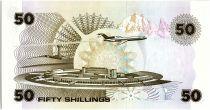 Kenya 50 Shillings  - Daniel Toroitich Arap Moi -1988