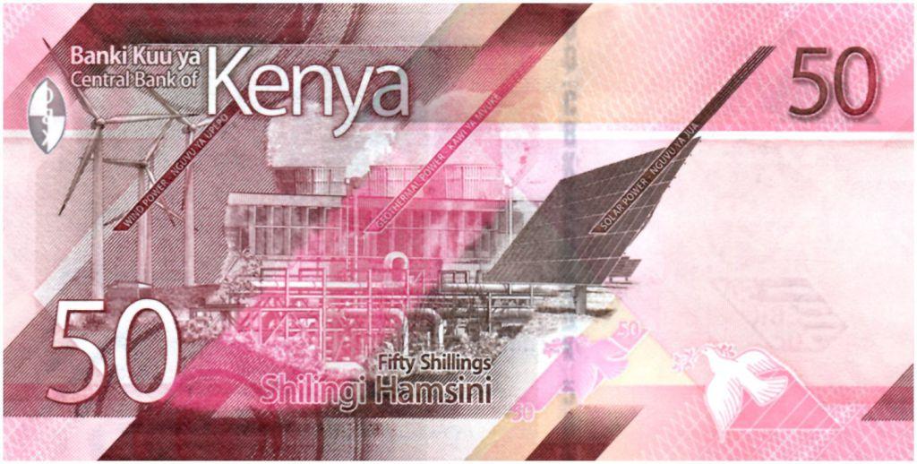 Kenya 50 Shillings - 2019 - UNC