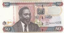 Kenya 50 Shillings M. J. Kenyatta - Caravane - 2010