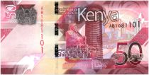 Kenya 50 Shillings M. J. Kenyatta - Industrie - 2019 - Neuf