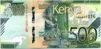 Kenya 500 Shillings - 2019 - UNC