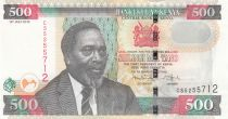 Kenya 500 Shillings M. J. Kenyatta - Cotton harvesting - 2010