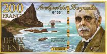 Kerguelen (Archipel des) 200 Francs, René Boissière - Chat 2010