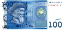 Khirghizistan 100 Som 2016 - Toktogul Satylganov, Dam