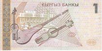 Kirghizstan 1 Som A. Maldibayeff - Instruments