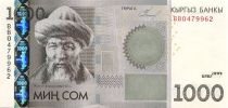 Kirghizstan 1000 Som Jusul Balasagbin