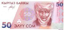 Kirghizstan 50 Som Czarina Krumanjan-Datka - Uzgen - 1994