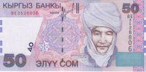 Kirghizstan 50 Som Czarina Krumanjan-Datka - Uzgen - 2002