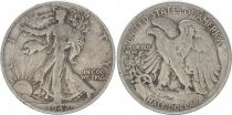 KM.142 1/2 Dollar, Liberty, Aigle - 1942
