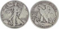 KM.142 1/2 Dollar, Liberty, Aigle - 1944