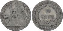 KM.16.1 10 Cents, République et Laurier - A-Paris - 1922