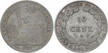 KM.16.1 10 Cents, République et Laurier - A-Paris - 1929