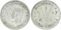 KM.37.a 3 Pence, Georges VI - 1947